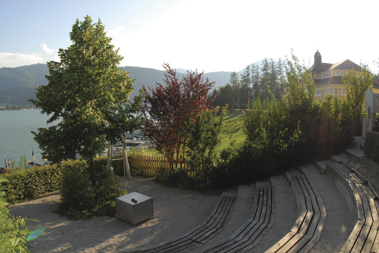 Literatenpark in St. Wolfgang am Wolfgangsee