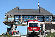 Top station of Schafbergbahn