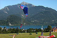 Paragliding from 12er Horn in St. Gilgen