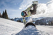 Snowboarding in Gosau and Russbach in the skiregion Dachstein West