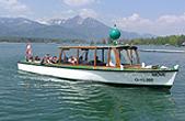 Rundfahrten und Bootvermietung